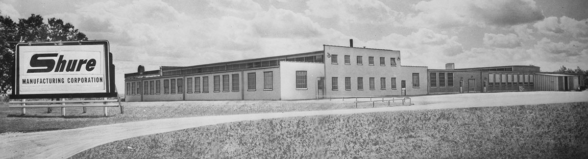 Shure Manufacturing Building, 1952