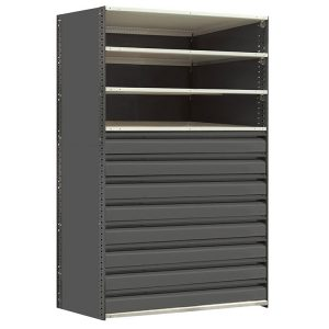 General Shelving with Drawers